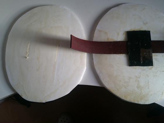 Faustschild Armgurt
